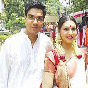 Prova with ex-boyfriend Rajib
