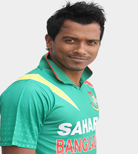 Full name: Rubel Hossain Born: January 1, 1990 Birth place: Bagerhat, Bangladesh Girlfriend: Naznin Akter Happy Playing role: Blower Batting style: Right-handed bat Bowling style: Right-arm medium-fast